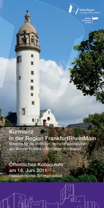 Flyer downloaden (PDF) - KulturRegion Frankfurt RheinMain