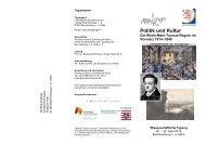 Flyer der Tagung (PDF) - Hochtaunuskreis
