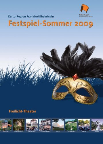 Festspiel-Sommer | Programm PDF - KulturRegion Frankfurt ...