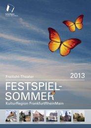Festspielsommer 2013 Format: PDF - Kulturportal Hessen