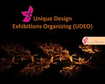 Unique Design Exhibitions Organizing (UDEO)