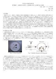 研究題目:加速度計を使用した飛翔体の新たな計測手法の提案