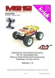 70924 Krick Alu Spinner 2 Blatt Ø 64mm 2.5in