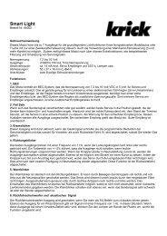 Deutsche Anleitung als PDF-File - Krick