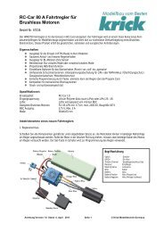 Bedienungsanleitung als PDF Datei - Krick