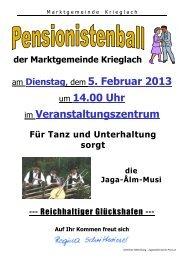 am Dienstag, dem 5. Februar 2013 um 14.00 Uhr im ...