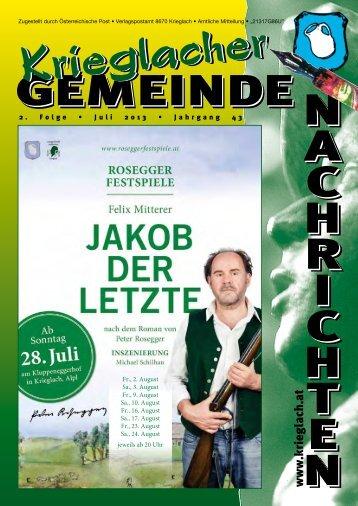 2. Folge / Juni 2013 - Gemeinde Krieglach