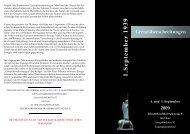 geht es zum Programm (.pdf) - Förderverein Kriegskinder für den ...