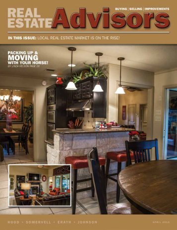 The Real Estate Advisors Magazine - April 2014