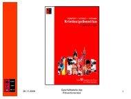 Frank Goldberg - Kooperationsstelle Kriminalprävention Bremen