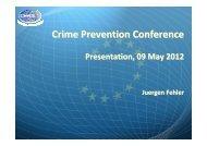 Crime Prevention Conference