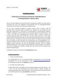 pdf, 650.7 KB - Kooperationsstelle Kriminalprävention Bremen