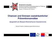 Chancen und Grenzen sozialräumlicher Präventionsansätze (pdf ...