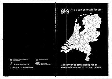 Atlas van de lokale lasten 2013 - Gemeente Krimpen aan den IJssel