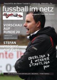 fussball im netz -Ausgabe 2014 März Woche 13/2 Nr.3