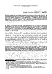 """Het sinthoom van Lacan Inleiding tot Lacans Seminarie """"Le sinthome"""""""