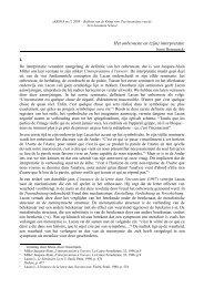 Het onbewuste en (zijn) interpretatie - Psychoanalyse Lacan - Freud ...