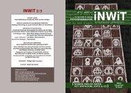 iNWiT 2&S flyer.pdf - Psychoanalyse Lacan - Freud