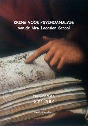 KRING VOOR PSYCHOANALYSE van de New Lacanian School