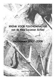 2007-2008 brochure.pdf - Psychoanalyse Lacan - Freud | NLS Kring ...