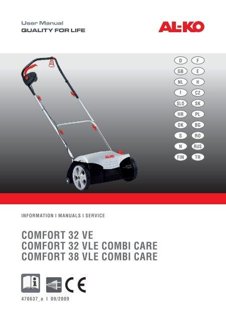 Ve Vle Al Combi Comfort 32 Care 38 Ko SUzMVp
