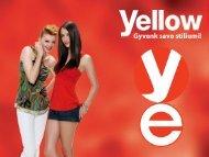 Yellow - plaukų dažymui - Krinona