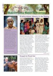 Krishna-Avanti: History in the Making - Bhaktivedanta Manor