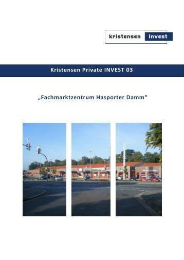 Prospekt_Kristensen_Private ... - Kristensen Invest