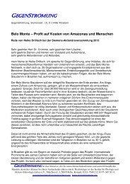 Rede Heike Drillisch Siemens HV 2013 - Dachverband der ...