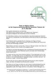 Rede von Markus Dufner - Dachverband der kritischen ...