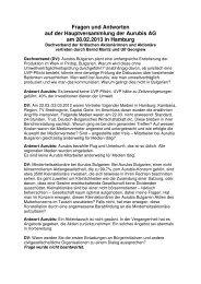 Fragen und Antworten Aurubis HV 2013 - Dachverband der ...