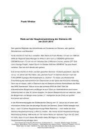 Rede Frank Winkler Siemens HV 2013 - Dachverband der kritischen ...