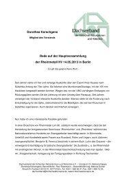 Rede Dorothea Kerschgens - Dachverband der kritischen ...