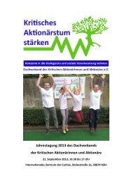 Reader JT 2013 - Dachverband der kritischen Aktionärinnen und ...