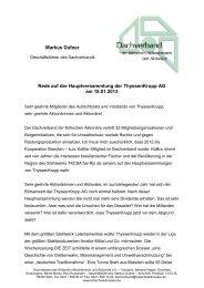 Markus Dufner - Dachverband der kritischen Aktionärinnen und ...