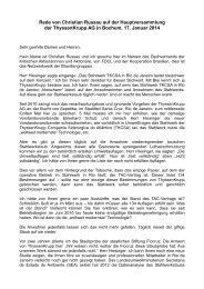 Rede Christian Russau - Dachverband der kritischen Aktionärinnen ...