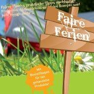 Faire Ferien - BDKJ Aachen