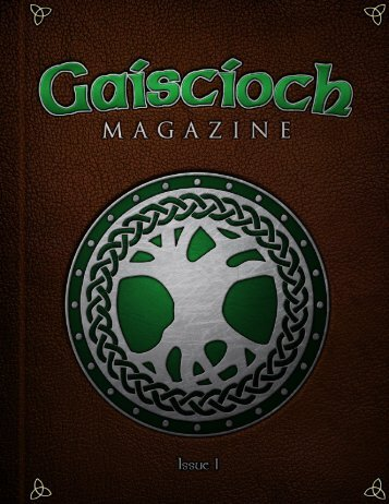 Gaiscioch Magazine - Issue 1