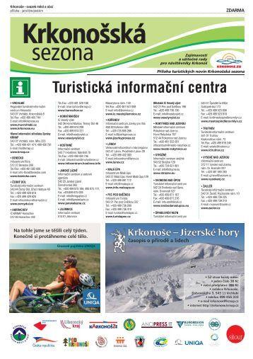 Turistická informační centra - Krkonoše