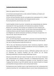Grußworte: Bürgermeister Hubertus Wunschik Meine sehr geehrten ...