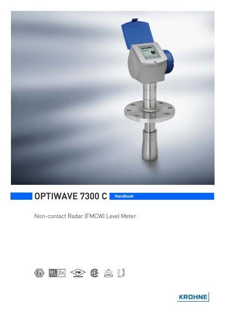 OPTIWAVE 7300 C Handbook