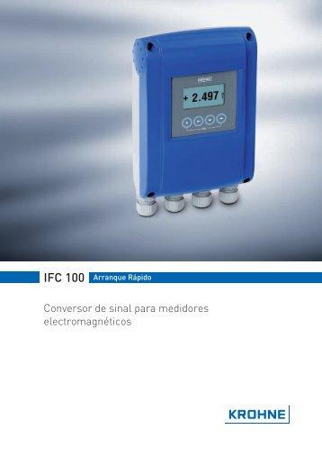 Conversor de sinal para medidores electromagnéticos