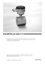 OPTIFLUX 1000