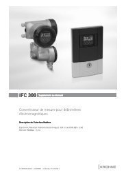 Convertisseur de mesure pour débitmètres électromagnétiques