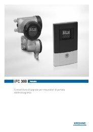 IFC 300 Manuale