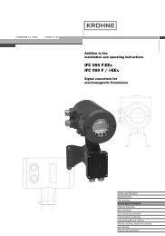 IFC 090 F-EEx IFC 090 F / i-EEx