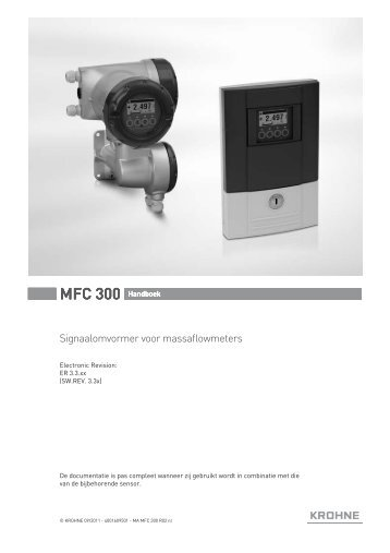 MFC 300 Handboek