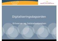 Digitaliseringsdagsorden - Kromann Reumert