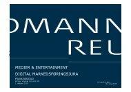 Digital markedsføringsjura, Frank Bøggild - Kromann Reumert