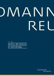 DOING BUSINESS IN DENMARK - Kromann Reumert